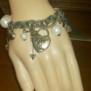Betsy Johnson charm bracelet